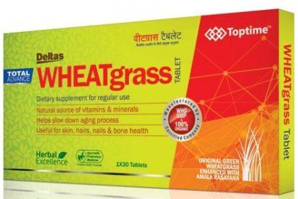 wheatgrass tablet